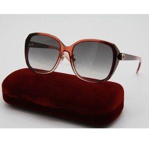 NEW GUCCI GG0371SK 003 Women's Sunglasses